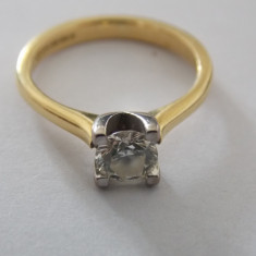 Inel aur 18k cu diamant