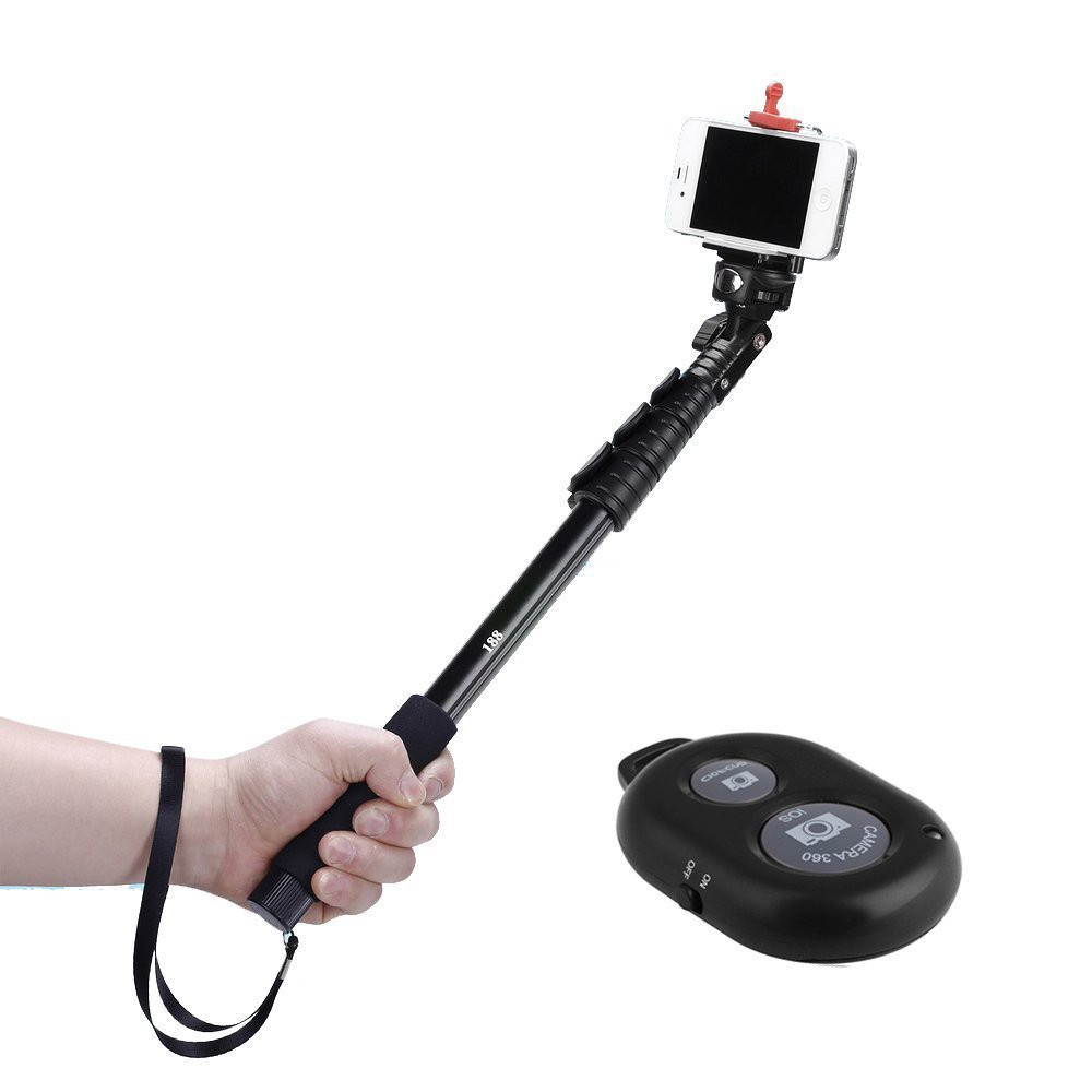 selfie stick si trepied profesional cu telecomanda bluetooth lungime cm okazii. Black Bedroom Furniture Sets. Home Design Ideas