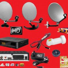 Sistem complet satelit - Antena tv camion /camping/rulota