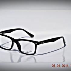 Rama ochelari Ray Ban, Unisex, Negru, Dreptunghiulare, Plastic, Rama intreaga - Rame de ochelari de vedere Ray Ban RB5287 2000