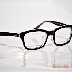 Rama ochelari Ray Ban, Unisex, Negru, Dreptunghiulare, Plastic, Rama intreaga - Rame de ochelari de vedere Ray Ban RB5267F 5061