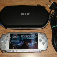 PSP Sony Slim Modat permanent 4GB cu Jocuri si Emulatoare