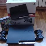 Playstation 3 modat, nou si 2 manete, Garantie 2ani, Fifa,  GTA 5, Minecraft Ps3