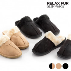 Papuci de Casa Relax Fur - Papuci barbati