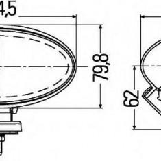 Far faza lunga - HELLA 1FA 007 891-061
