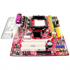 Placa de baza MSI K9N6SGM-V (MS-7309 ver 1.0), Socket AM2+, DDR2, VIDEO ONBOARD, Pentru AMD, MicroATX