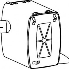 Toba finala auto - Amortizor zgomot mijloc/spate MERCEDES-BENZ ACTROS 1831, 1831 L - DINEX 50450