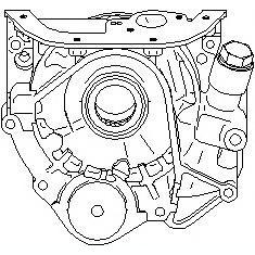 Pompa ulei AUDI A6 limuzina 2.5 TDI - TOPRAN 112 350