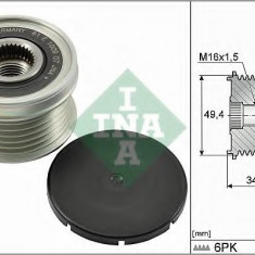 Sistem roata libera, generator VW PASSAT 1.4 TSI - INA 535 0155 10 - Fulie