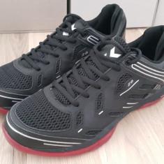 Adidasi originali sport barbati HUMMEL_running- handbal - 44.5 - Adidasi barbati Hummel, Culoare: Negru, Piele sintetica