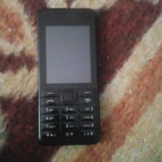 Nokia 301 - Telefon Nokia, Negru, Nu se aplica, Neblocat, Single core, 512 MB
