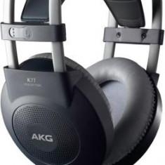 Casti AKG K77 PRO Over Ear - Studio, 2.5 metri cablu, jack 3.5mm + 6.3mm, Black - Casti Telefon