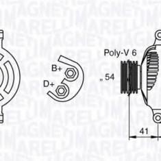 Generator / Alternator FIAT IDEA 1.3 JTD - MAGNETI MARELLI 063377028010 - Alternator auto