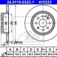 Disc frana FIAT PUNTO EVO 1.4 Abarth - ATE 24.0110-0323.1 - Discuri frana REINZ