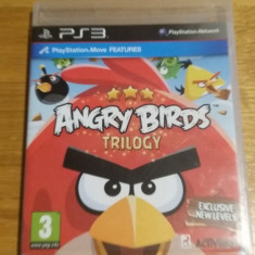 PS3 Angry birds trilogy - joc original by WADDER - Jocuri PS3 Thq, Actiune, 3+, Multiplayer