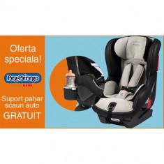 Scaun Auto Viaggio1 Duo Fix K Pearl Grey + Suport Pahar PROMO - Scaun auto bebelusi grupa 0+ (0-13 kg) Peg Perego