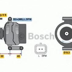 Generator / Alternator RENAULT CLIO Mk II 1.6 Flex - BOSCH 0 986 041 850 - Alternator auto
