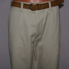 Pantaloni barbati DOCKERS D3 Classic Fit khaki marimea W32, Marime: 34, Lungi, Bumbac