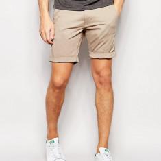 Pantaloni scurti chinos - SELECTED - art. 16048228 bej - Pantaloni barbati Selected, Marime: M, L, XL, XXL