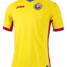 Ticou Joma ROMANIA Acasa EURO 2016/2017(SIMPLU) - Tricou barbati, Marime: S, M, L, XL, XXL, Culoare: Galben