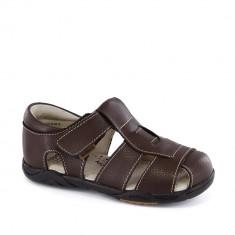 Sandale baieti Sydney Choco Brown - Sandale copii, 24, 27, 28, 30, 31