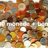 LICITATIE 200 MONEDE DIVERSE STRAINE + ROMANESTI + 1 LEU 1906 ARGINT!!!