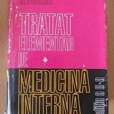 TRATAT ELEMENTAR DE MEDICINA INTERNA- FODOR, vol I, cartonata