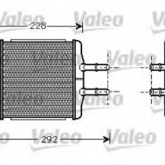 Schimbator caldura, incalzire habitaclu DAEWOO LANOS / SENS 1.6 16V - VALEO 812335 - Sistem Incalzire Auto