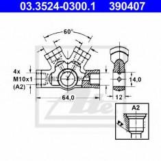 Conector, conducte metal - ATE 03.3524-0300.1