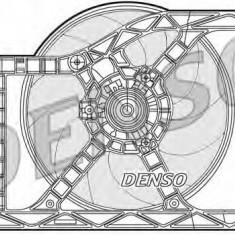 Ventilator, radiator FIAT 500 C 0.9 - DENSO DER09045 - Ventilatoare auto