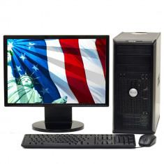 Pachet PC Dell OptiPlex 745, Intel Pentium D 3.0GHz, 2GB DDR2, 80GB HDD 8278 - Sisteme desktop cu monitor Dell, Intel Pentium Dual Core, Peste 3000 Mhz, 40-99 GB, 15 inch