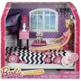 Papusa Barbie Life Furniture Bedroom And Doll Playset