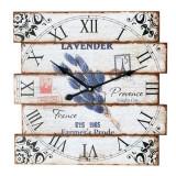 Ceas de lemn de perete ZigZag - Ceas de perete