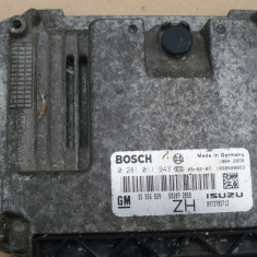 ECU calculator modul Opel Astra H, 1.7cdti, GM55556829, 0281011943 - ECU auto