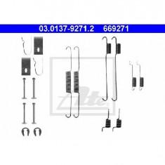Set accesorii, sabot de frana DAIHATSU CHARADE Mk III G100 G101 G102 PRODUCATOR ATE 03.0137-9271.2 - Saboti frana auto