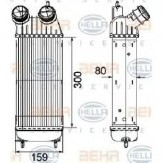 Intercooler, compresor CITROˎ DISPATCH PRODUCATOR HELLA 8ML 376 746-211