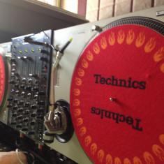 Setup DJ Technics 1200 MK2 X2/Mixer Xone 42/Interfata Traktor Audio 6 allen&heath