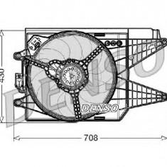Ventilator, radiator FIAT 500 312 PRODUCATOR DENSO DER09049