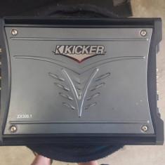 Amplificator kiker.zx300.1+ subwoofer jbl CS1204T - Amplificator auto Kicker