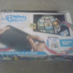 Tableta U Draw + Joc instant Artist - PS3, Controller