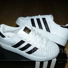 Adidasi Adidas Superstar STAR-01 - Adidasi barbati, Marime: 36, 37, 38, 39, 40, 41, 42, 43, 44, Culoare: Din imagine, Textil