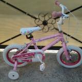 Rich Princess, bicicleta copii 12 (2-5 ani)