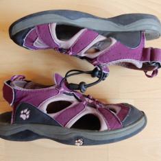 Sandale Jack Wolfskin, piele naturala; marime 33 (21 cm talpic interior) - Sandale copii, Culoare: Din imagine