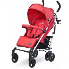 Carucior Jeans Red - Carucior copii 2 in 1 Caretero