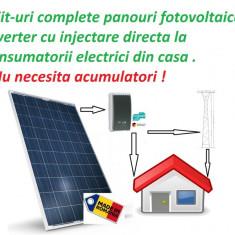 Kit complet Inverter+ panouri fotovoltaice 230v max 3.6kw - Panouri solare