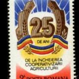 "Romania 1987 LP 1175 - serie nestampilata MNH ""Incheierea Cooperativizarii"" - Timbre Romania"