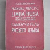 MANUAL PRACTIC DE LIMBA RUSA- PROF. H.SASCUTEANU, 1944