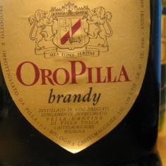 Brandy oro pilla distillato di vino, cc 1000 gr 40 ani 1950-1960 - Cognac