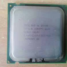 Procesor Intel Core 2 Quad Q9400 2, 66GHz/6M/1333 FSB socket 775, pasta codou. - Procesor PC Intel, Intel, Intel Core 2 Quad, Numar nuclee: 4, 2.5-3.0 GHz, LGA775