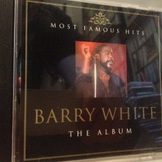 BARRY WHITE - THE ALBUM (MCPS/2000/GERMANY) - CD - APROAPE NOU /ORIGINAL - Muzica R&B Altele